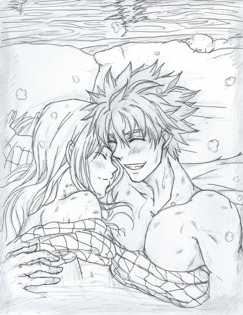 785x1017 Fairy Tail Nalu A Dragon's Restraint By Inubaki