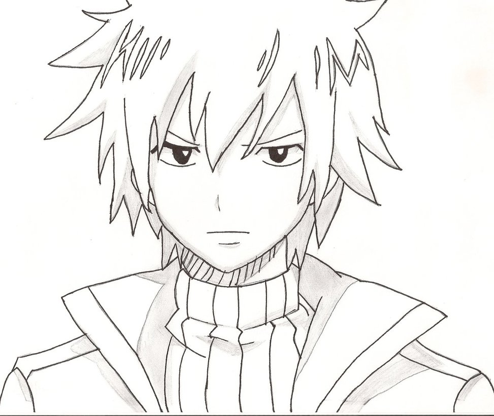 Fairy Tail Manga Drawing At Getdrawings Com Free For Personal Use