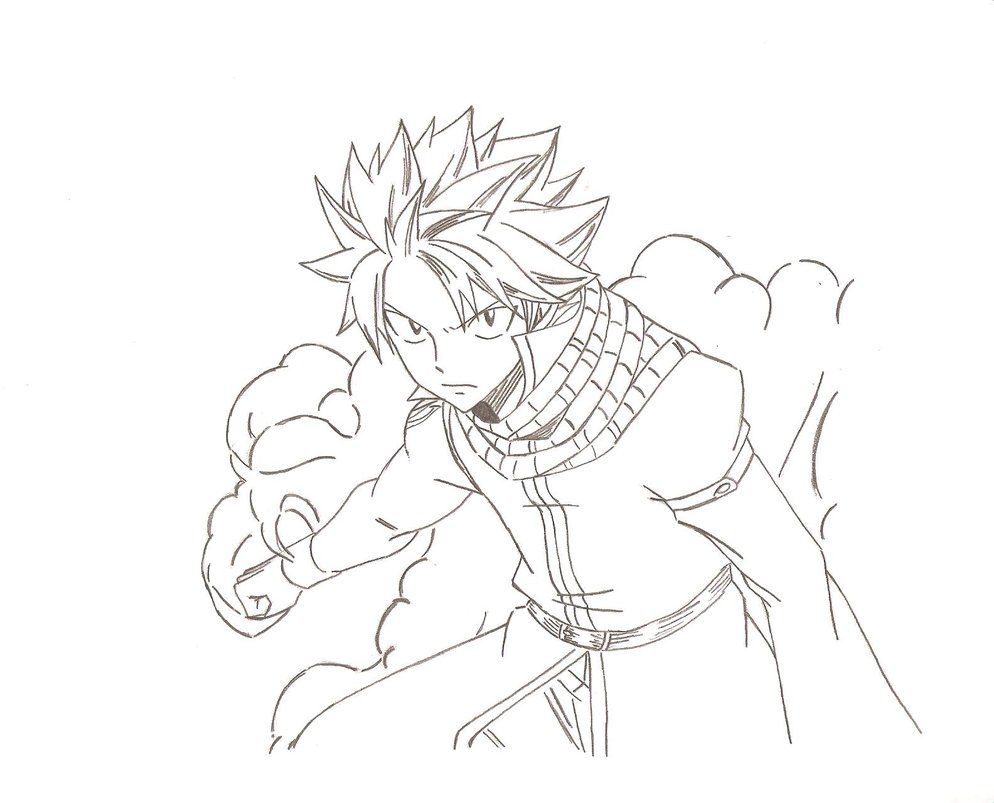 Fairy Tail Manga Drawing at GetDrawings.com | Free for personal use ...