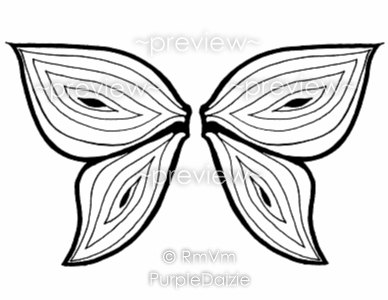 Fairy Wings Drawing at GetDrawingscom Free for personal use Fairy