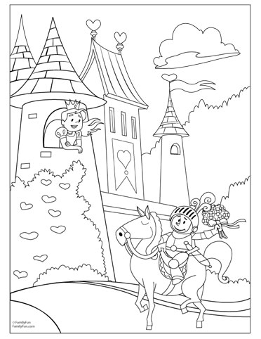 Free Printable Castle Coloring Pages For Kids Fairytale Drawing At GetDrawings