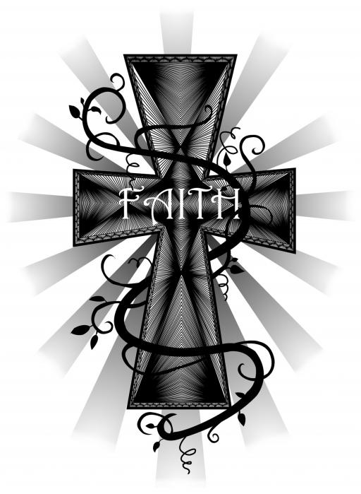 512x699 Faith Canvas Print Canvas Art By Cara Maler Tattoo