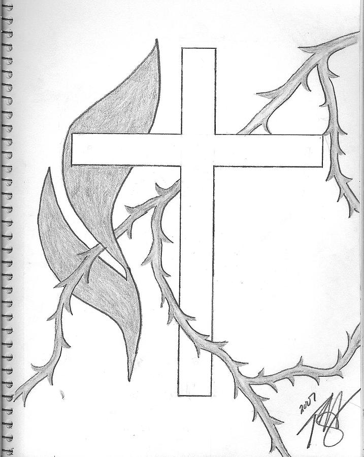 717x900 Faith Drawing By Theodore Hughes