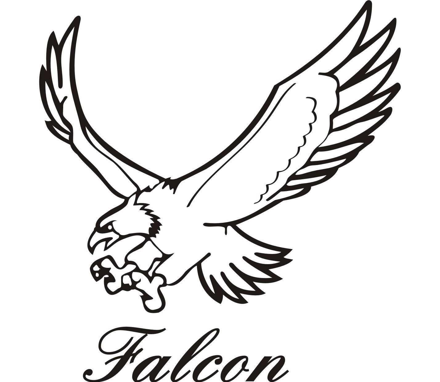 1428x1238 Drawing Of A Falcon Falcon