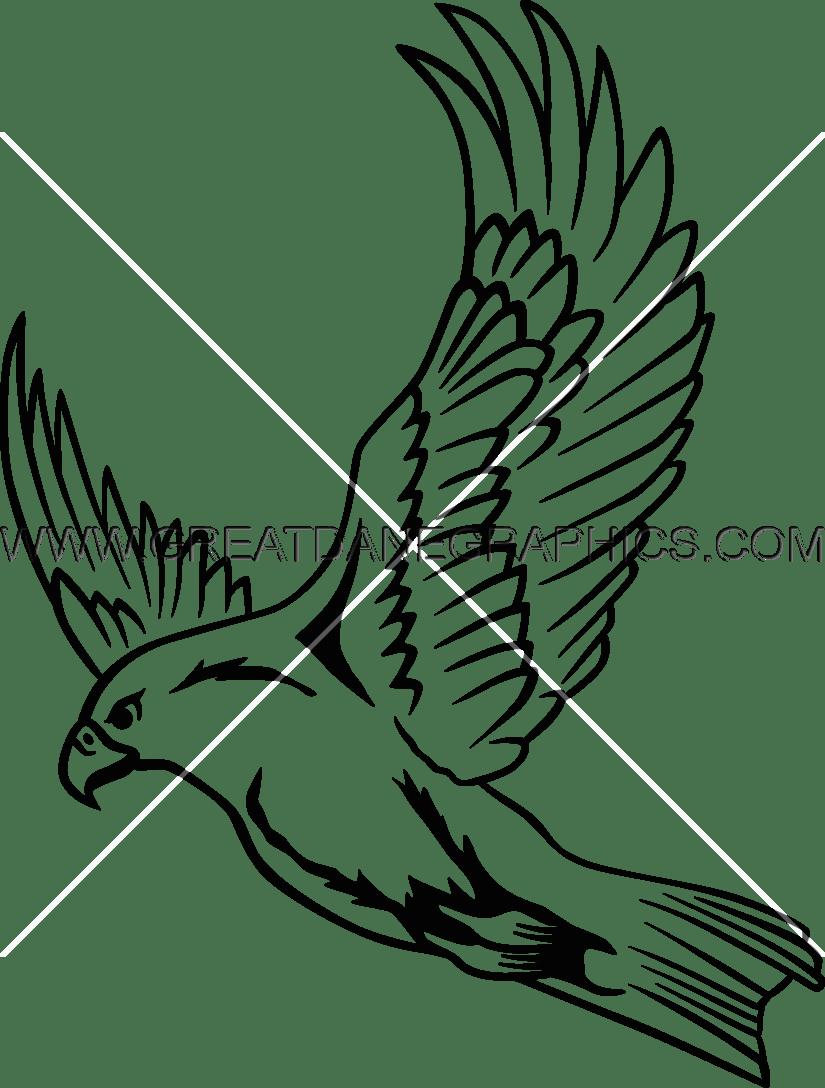 flying falcon drawing - HD825×1088