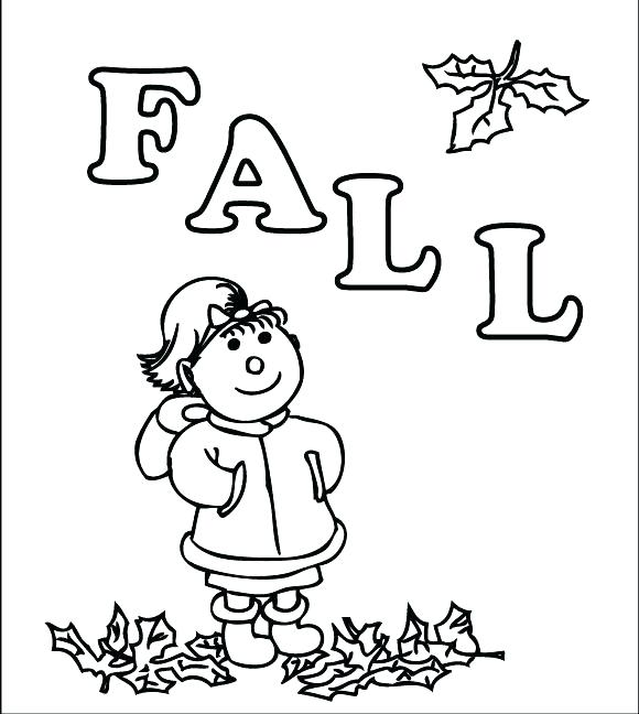 580x648 Fall Printable Coloring Pages Fall Coloring Page Pages Activities