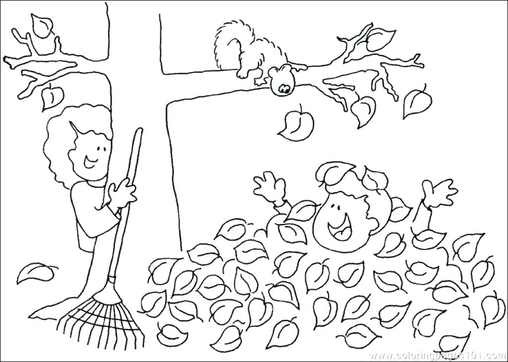 1024x731 Free Autumn Coloring Pages Autumn Coloring Pages Printable Free