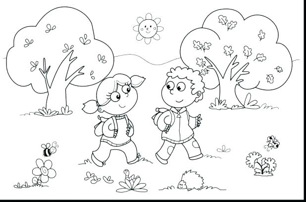 618x407 Second Grade Coloring Pages Grade Coloring Pages Awesome Fall