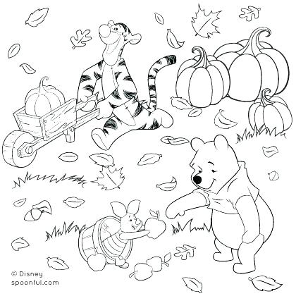 420x420 Fall Coloring Books Also Autumn Coloring Pages To Keep The Kids