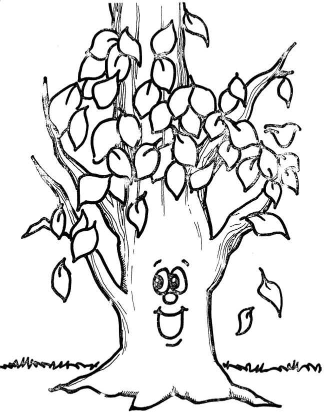 Fall Trees Drawing