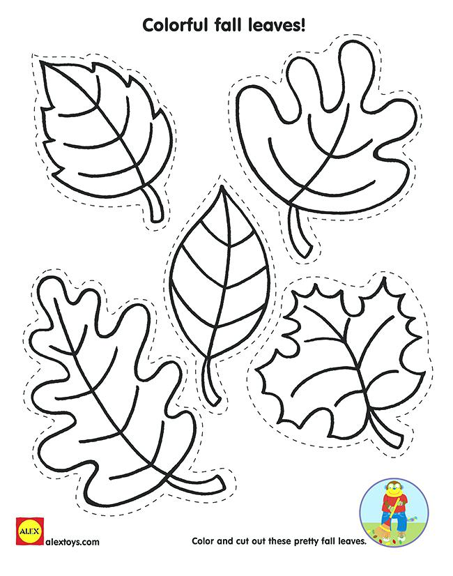 650x826 Leaves Coloring Pages Printable Fall Trees Coloring Pages Color