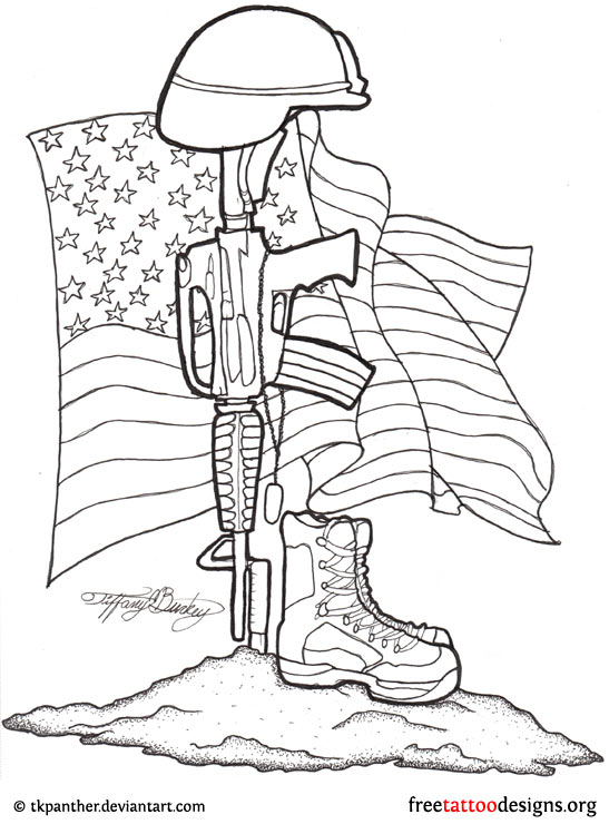 547x740 Fallen Soldier Drawing Memorial Tattoos Don'T Have To Patterns