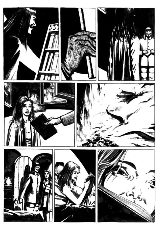 553x800 David Lloyd Draws Final V For Vendetta Page To Benefit Family