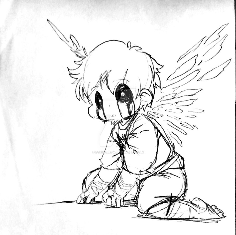 Falling angel drawing at getdrawings free for personal use 895x892 how to draw a fallen angel thecheapjerseys Gallery