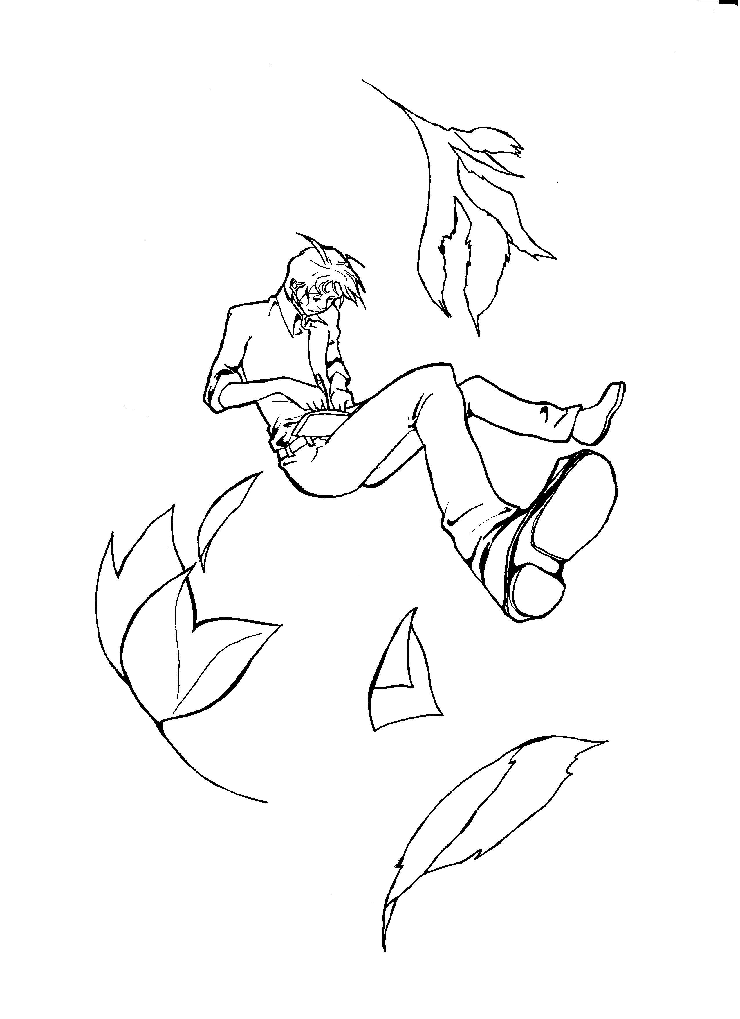 Falling Drawing