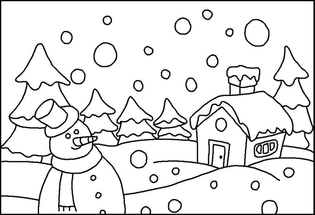 Falling Snow Drawing at GetDrawings.com   Free for ...