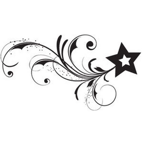 500x500 Tribal Star Tattoos Designs With Meanings