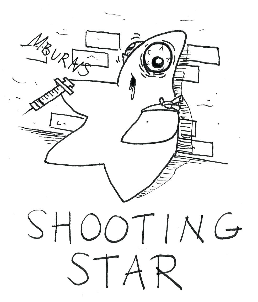 Falling Stars Drawing at GetDrawings.com | Free for personal use ...