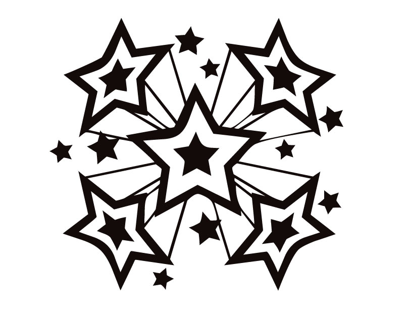 810x630 Stars Coloring Pages. Click To See Printable Version Of 10 Point