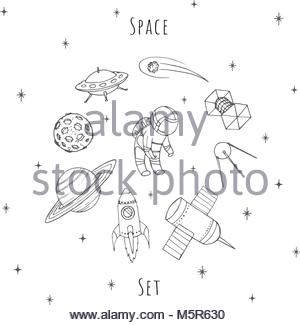 300x325 Drawing Sketch Style Illustration Of An Astronaut Or Spaceman