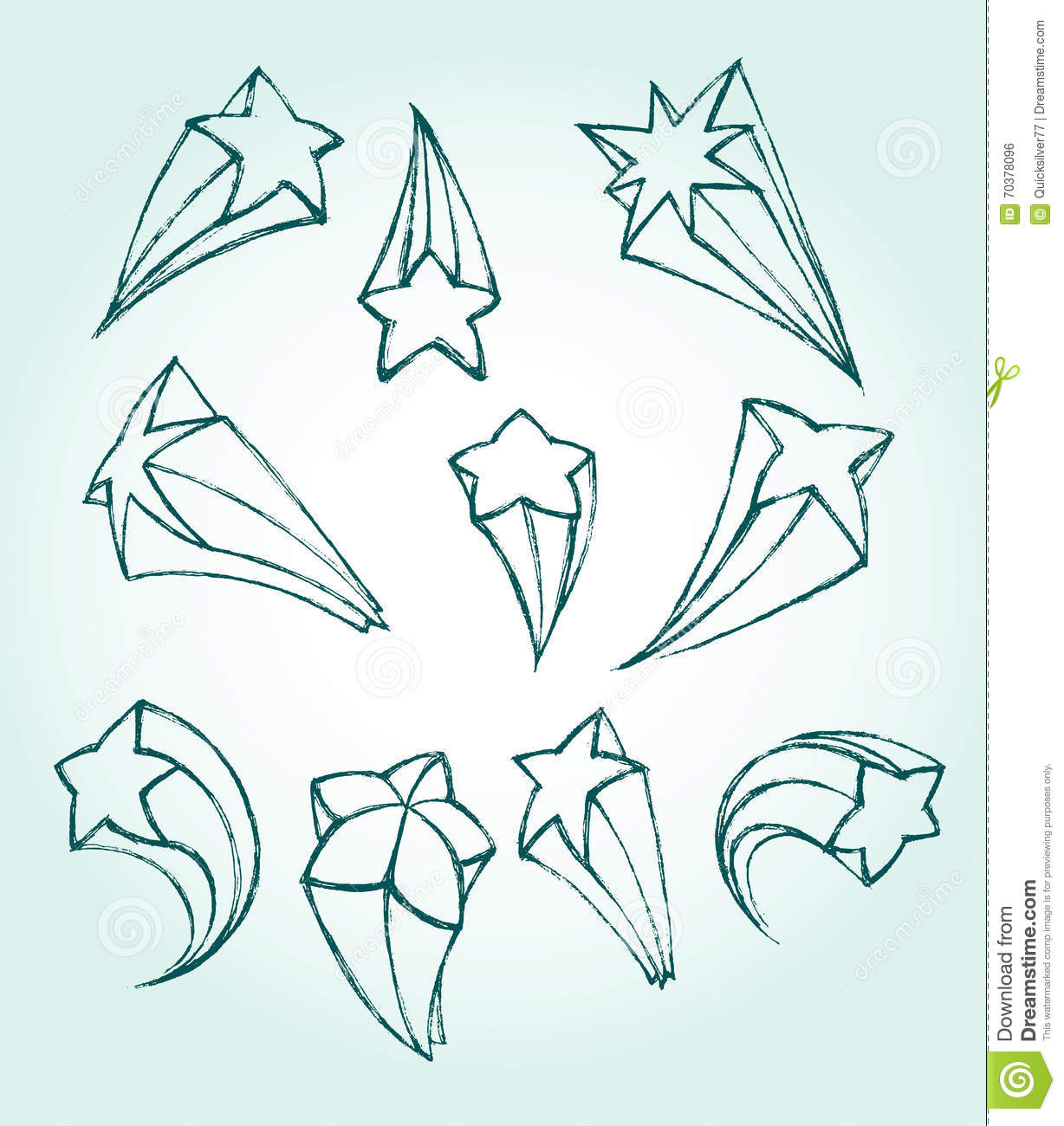1228x1300 Drawn Falling Stars Sketchy 3320176
