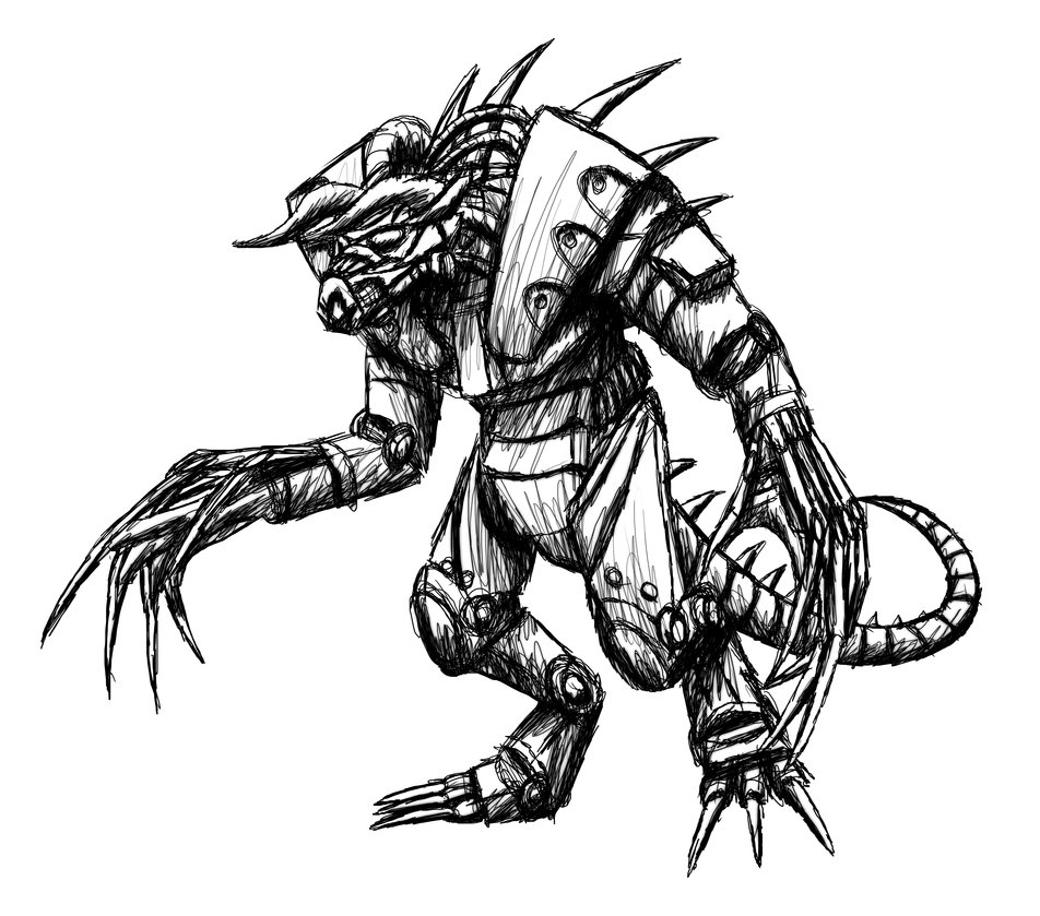 how to draw fantasy armor