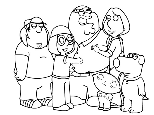 511x380 How To Draw Family Guy Characters Part 2 By Sketchheroes