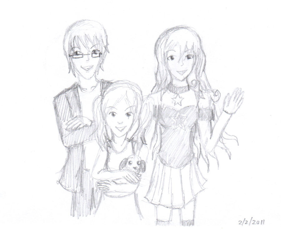 900x755 Free Sketch Family Drawing By Forte Rock