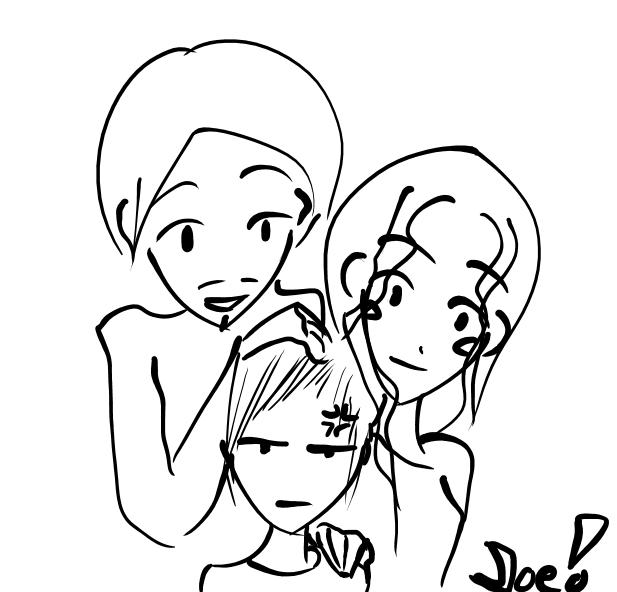 617x592 Awkward Family Drawing By L337ph34r