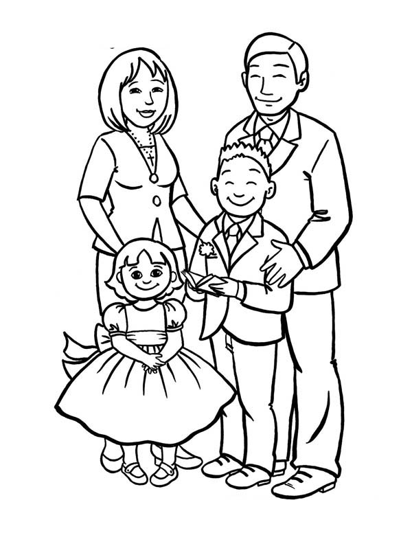 Family Drawing At Getdrawings Com Free For Personal Use Family