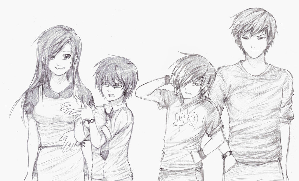 1024x620 Kind Of A Messed Up Family Portrait By Yumisuu