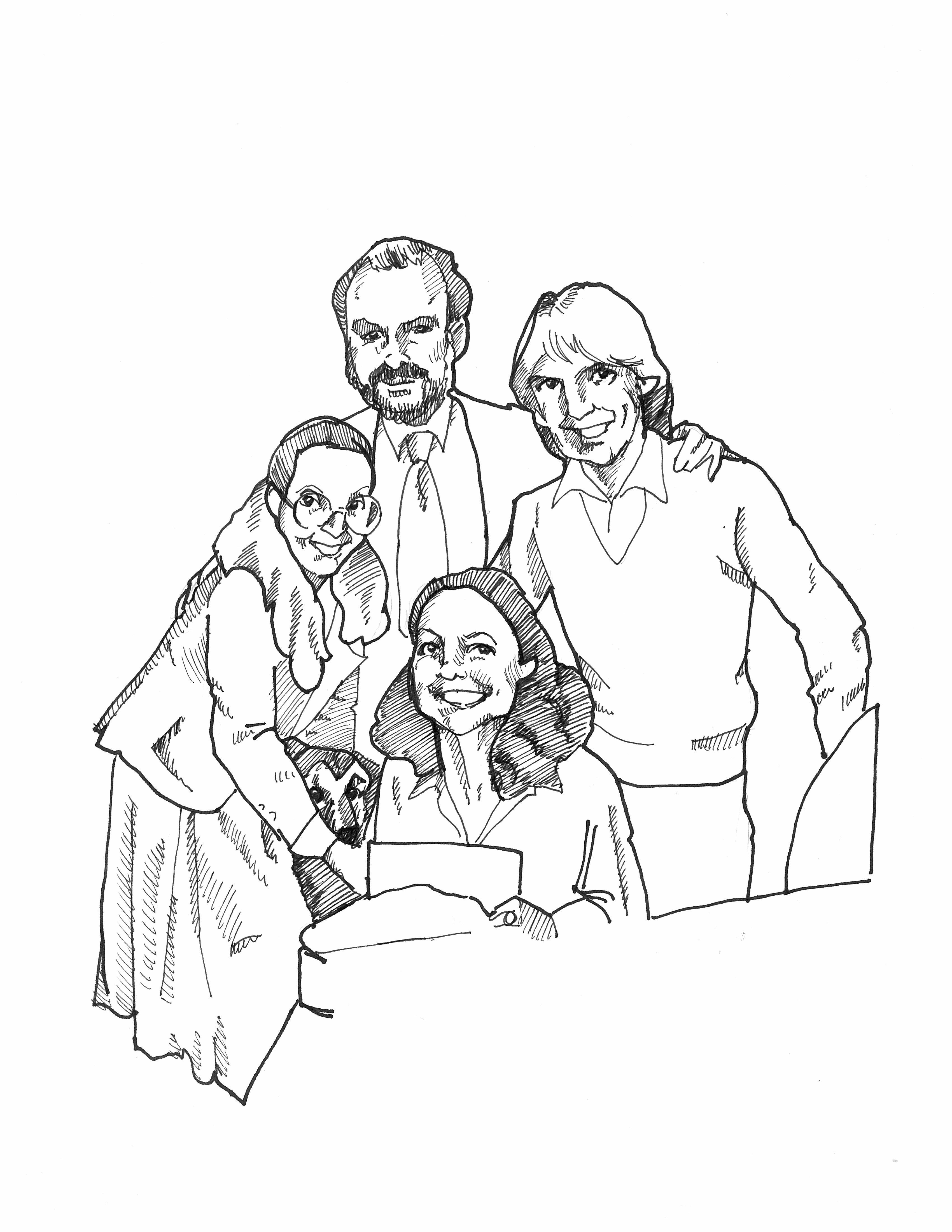 3400x4400 Family Drawings For The Holidays