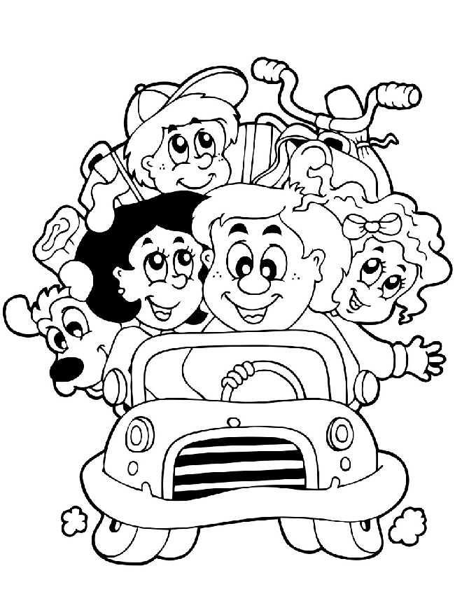 650x878 Top 10 Free Printable Family Coloring Pages Online Learning