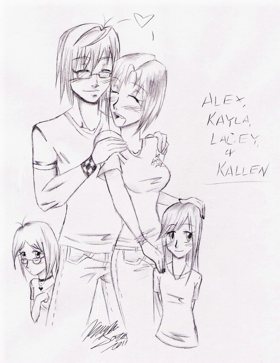900x1164 Happy Family By Anime Fan Addict