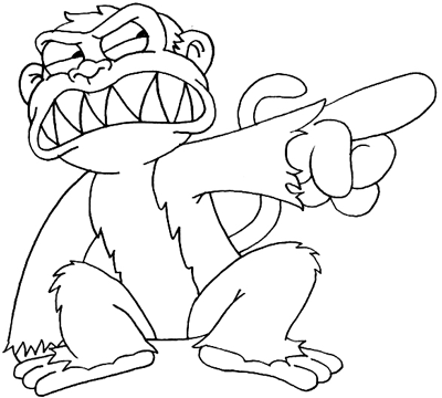 400x360 How To Draw The Evil Monkey From Family Guy Drawing Tutorial