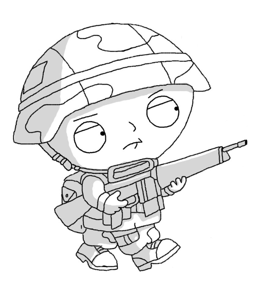 845x944 Private Stewie By Dman25666