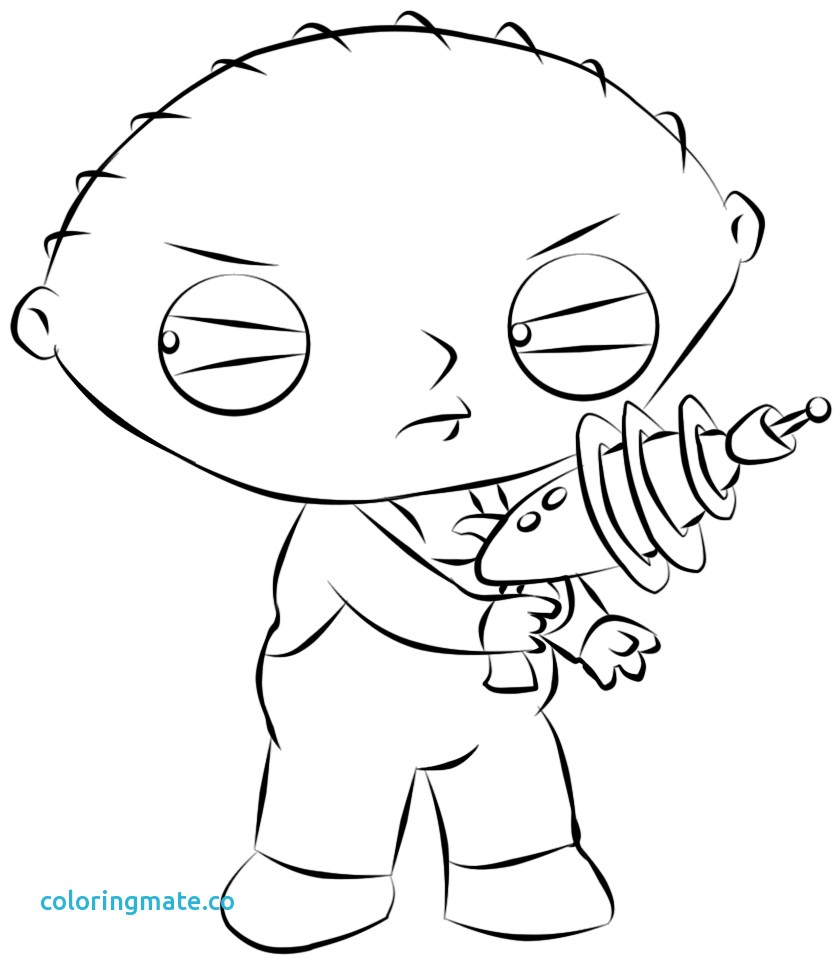 834x958 Family Guy Coloring Pages Beautiful Stewie Griffin Cute Avondale