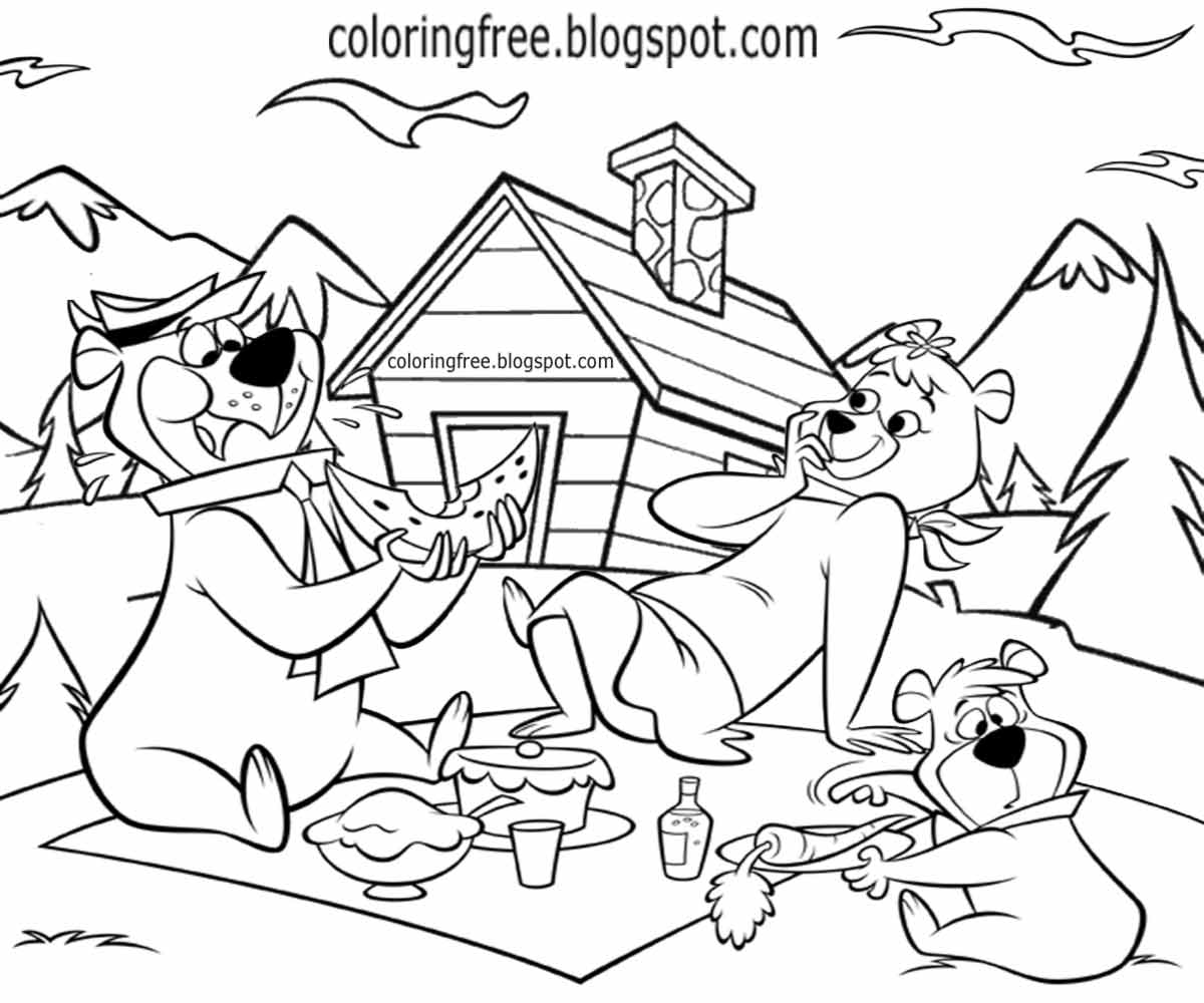 Family Picnic Drawing at GetDrawings.com | Free for personal use ...