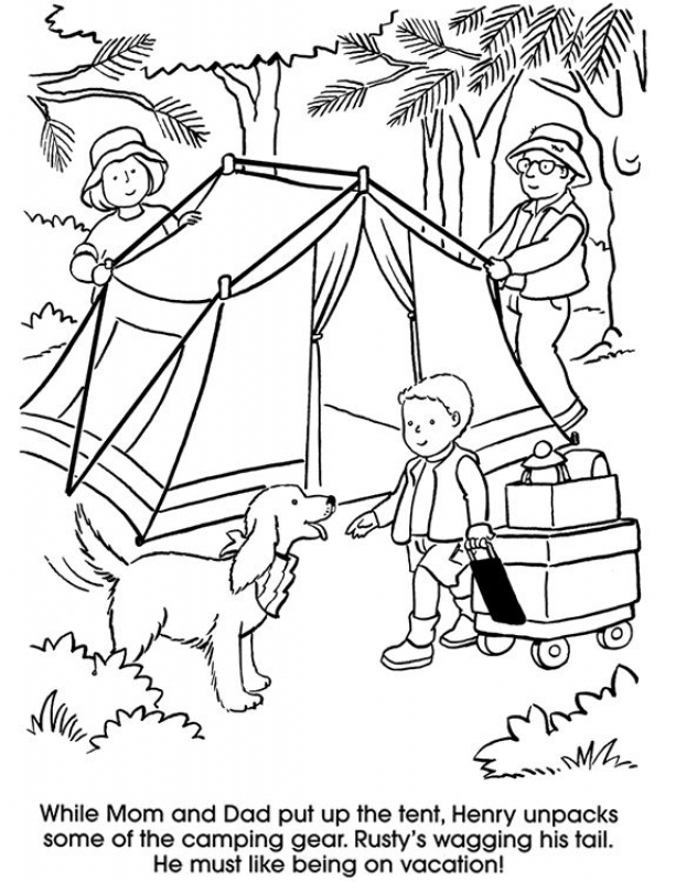 Family Picnic Drawing at GetDrawings.com | Free for ...