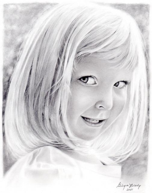 505x640 Ginger Brady Fine Art Baby, Family Amp Pet Graphite Pencil Portraits