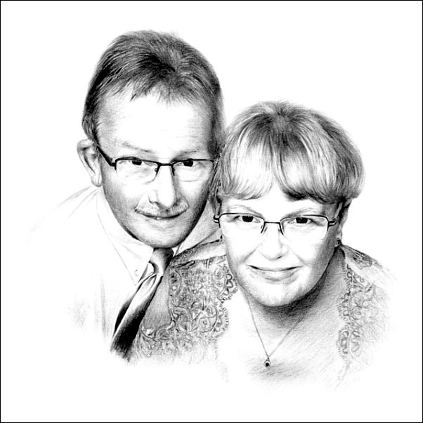 602x602 Pencil Portrait Drawings Of Couples By Mcb Pencil Portraits