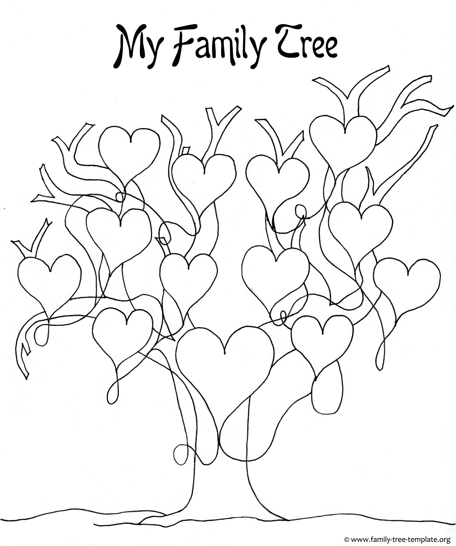 Family Tree Drawing At Getdrawings