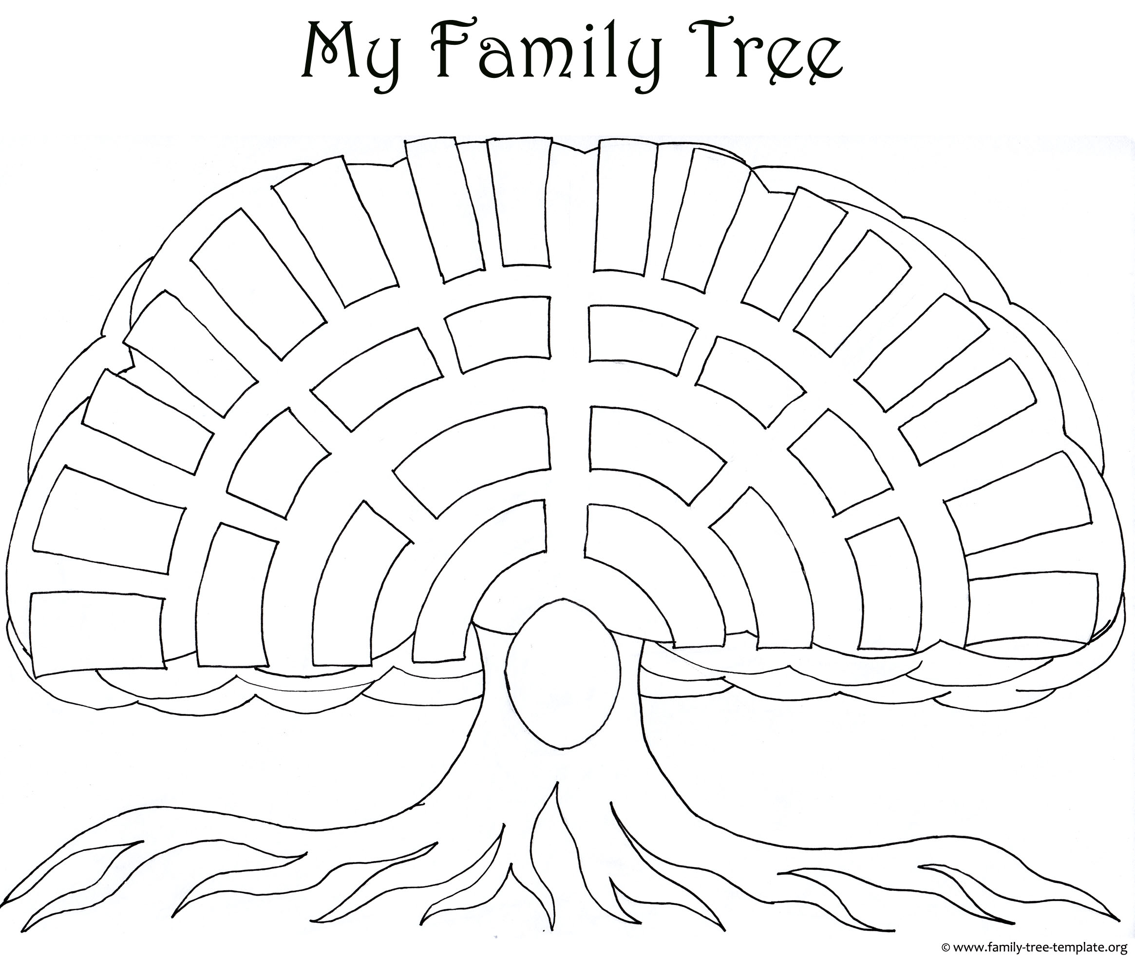 draw a family tree template - family tree drawing easy at free for