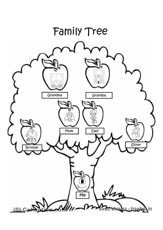 simple family trees worksheet vatoz atozdevelopment co