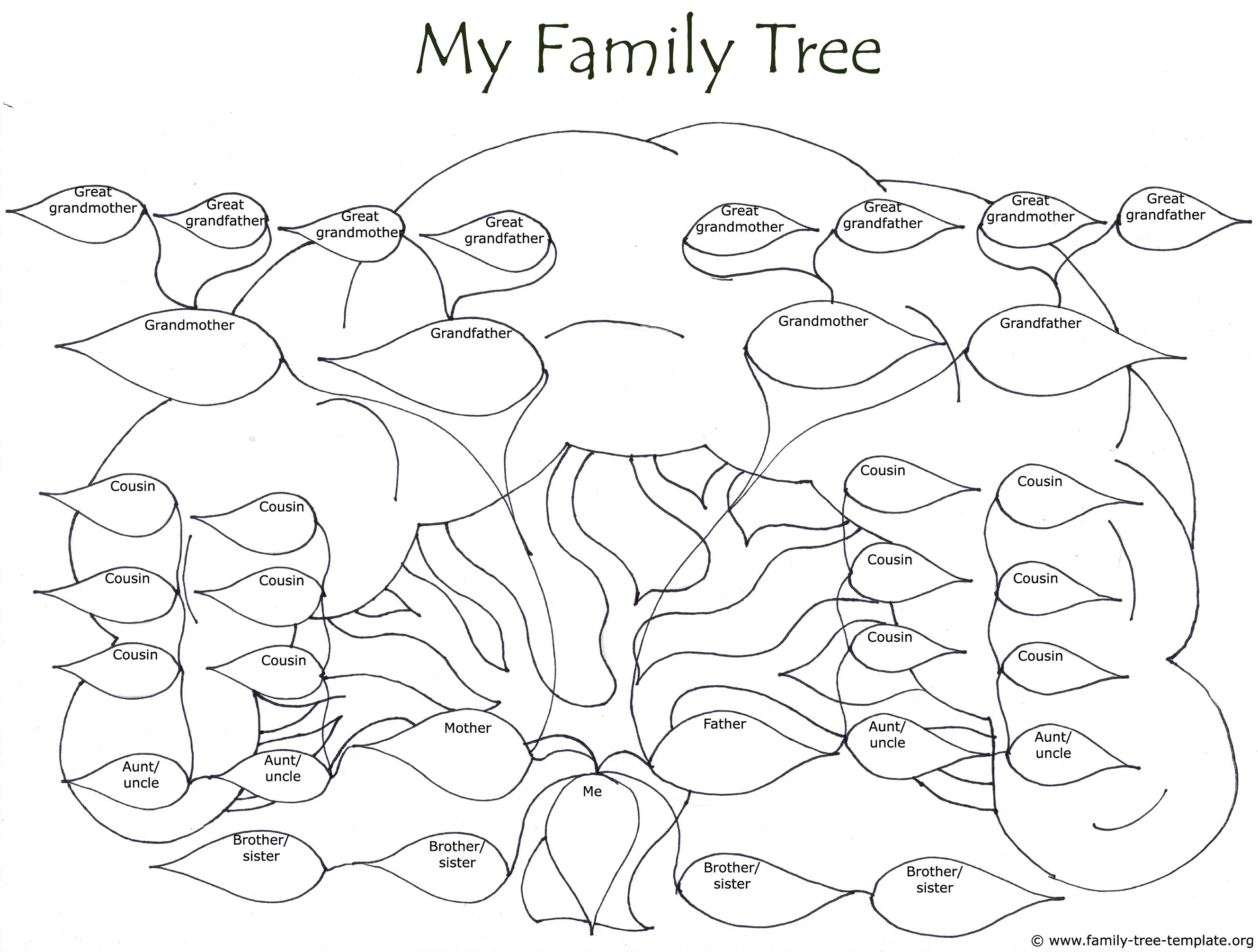 2657x2010 Free Family Tree Templates