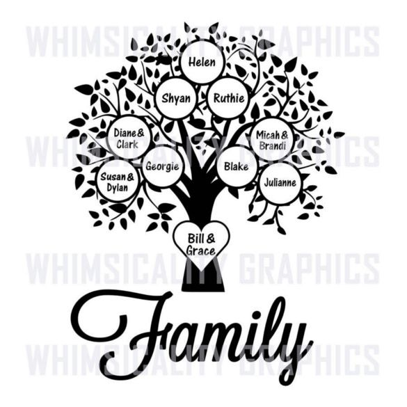 585x585 Blank Family Tree Template Free Word, Pdf Documents Download