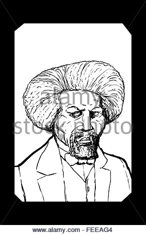 291x470 Hand Drawn Sketch Portrait Of Famous African American Leader Named