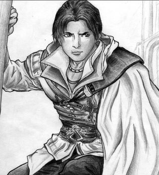 320x352 This Is A Drawing Of Ezio Auditore Da Firenze The Famous Italian