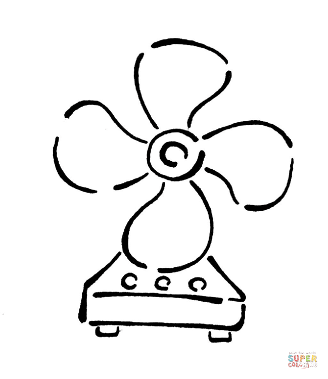 649x750 Fan Coloring Page Free Printable Coloring Pages