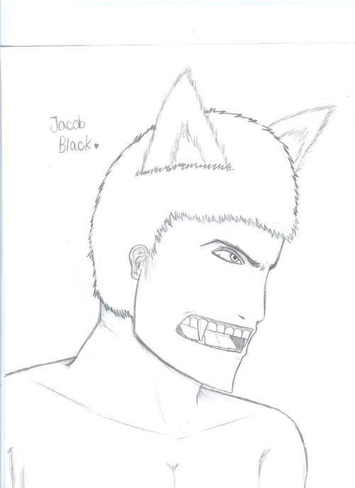 500x687 The 10 Worst Fan Drawings Of Jacob From Twilight Smosh